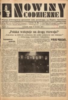 Nowiny Codzienne, 1936. R. 26, nr 12