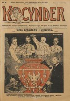 Kocynder, 1921, [R. 2], nr 26