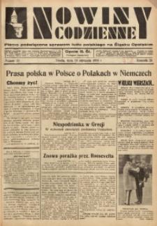 Nowiny Codzienne, 1936. R. 26, nr 23