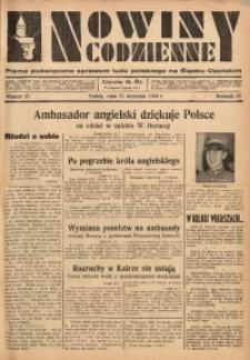 Nowiny Codzienne, 1936. R. 26, nr 25
