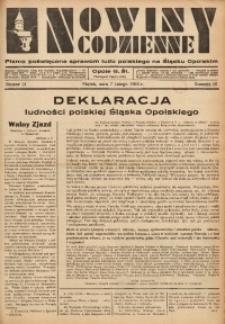 Nowiny Codzienne, 1936. R. 26, nr 31
