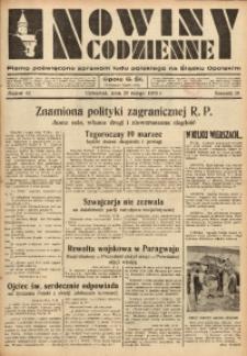 Nowiny Codzienne, 1936. R. 26, nr 42