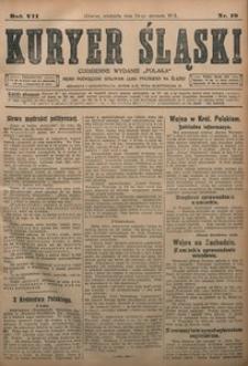 Kuryer Śląski, 1915, R. 7 [właśc. 9], nr 19