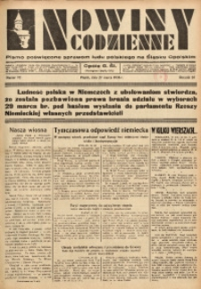 Nowiny Codzienne, 1936. R. 26, nr 72
