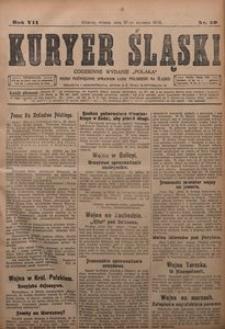 Kuryer Śląski, 1915, R. 7 [właśc. 9], nr 20