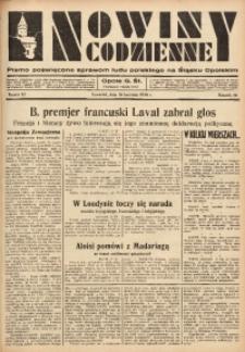 Nowiny Codzienne, 1936. R. 26, nr 87