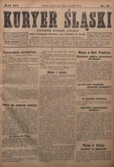Kuryer Śląski, 1915, R. 7 [właśc. 9], nr 21