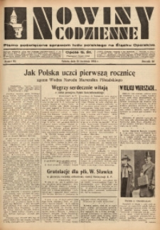 Nowiny Codzienne, 1936. R. 26, nr 95