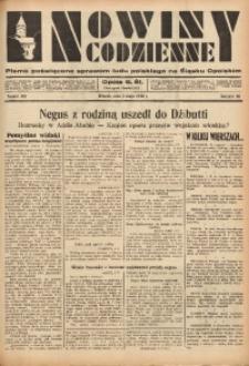 Nowiny Codzienne, 1936. R. 26, nr 102