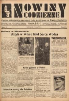 Nowiny Codzienne, 1936. R. 26, nr 113