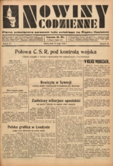 Nowiny Codzienne, 1936. R. 26, nr 117