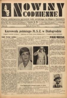 Nowiny Codzienne, 1936. R. 26, nr 122