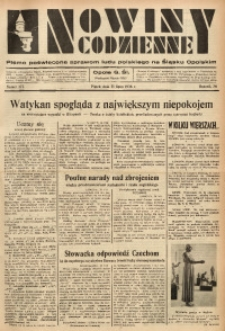 Nowiny Codzienne, 1936. R. 26, nr 173