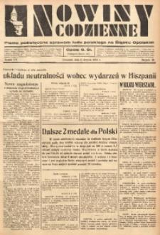 Nowiny Codzienne, 1936. R. 26, nr 178