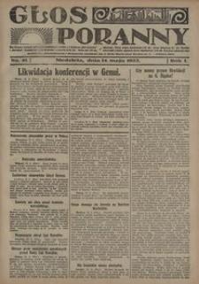 Głos Poranny, 1922, R. 1, nr 41