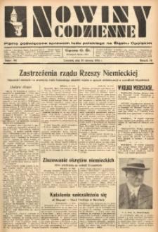 Nowiny Codzienne, 1936. R. 26, nr 190