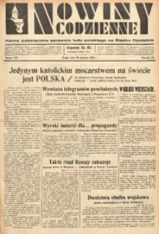 Nowiny Codzienne, 1936. R. 26, nr 195