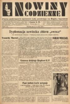 Nowiny Codzienne, 1936. R. 26, nr 223