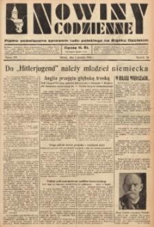 Nowiny Codzienne, 1936. R. 26, nr 281