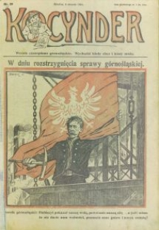 Kocynder, 1921, [R. 2], nr 29