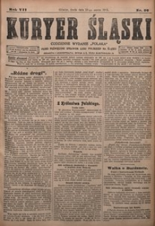 Kuryer Śląski, 1915, R. 7 [właśc. 9], nr 56