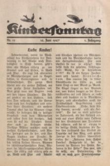 Kindersonntag, 1927, Jg. 1, Nr. 13