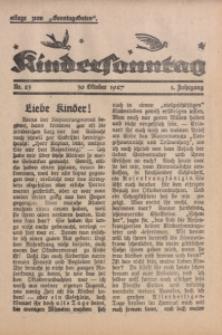 Kindersonntag, 1927, Jg. 1, Nr. 23