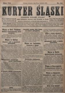 Kuryer Śląski, 1915, R. 7 [właśc. 9], nr 84