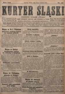Kuryer Śląski, 1915, R. 7 [właśc. 9], nr 86