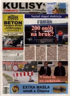 Kulisy Powiatu Kluczbork - Olesno 2013, nr 6 (478).