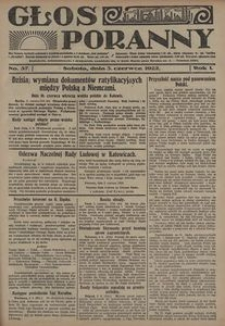 Głos Poranny, 1922, R. 1, nr 57