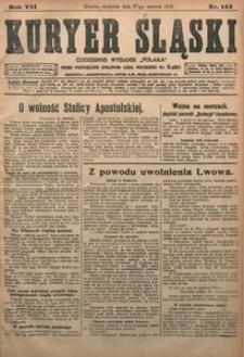 Kuryer Śląski, 1915, R. 7 [właśc. 9], nr 144