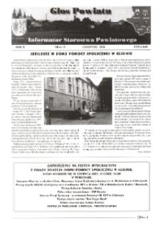 Głos Powiatu : informator Starostwa Powiatowego. R. 2, nr 6 (15).