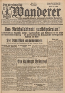 Der Oberschlesische Wanderer, 1930, Jg. 102, Nr. 74