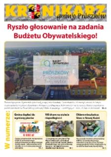 Kronikarz Gminy Prószków 2018, nr 5.