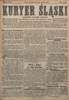 Kuryer Śląski, 1915, R. 7 [właśc. 9], nr 179
