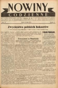 Nowiny Codzienne, 1938, R. 28, nr 36