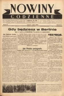 Nowiny Codzienne, 1938, R. 28, nr 50