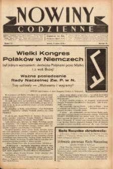 Nowiny Codzienne, 1938, R. 28, nr 53