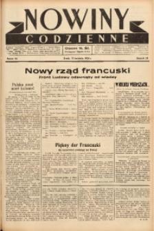 Nowiny Codzienne, 1938, R. 28, nr 84