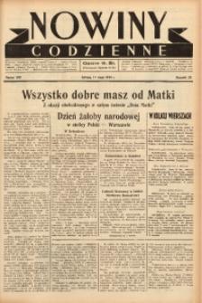 Nowiny Codzienne, 1938, R. 28, nr 109