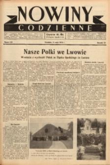 Nowiny Codzienne, 1938, R. 28, nr 110