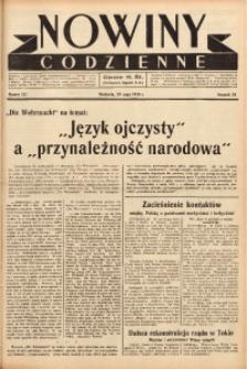 Nowiny Codzienne, 1938, R. 28, nr 121