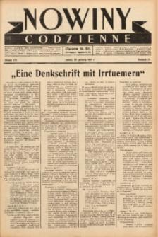 Nowiny Codzienne, 1938, R. 28, nr 136