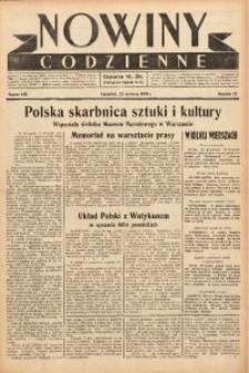 Nowiny Codzienne, 1938, R. 28, nr 140