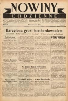 Nowiny Codzienne, 1938, R. 28, nr 144