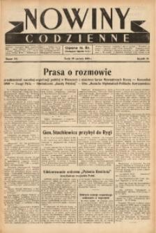 Nowiny Codzienne, 1938, R. 28, nr 145