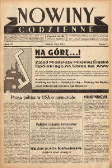 Nowiny Codzienne, 1938, R. 28, nr 148