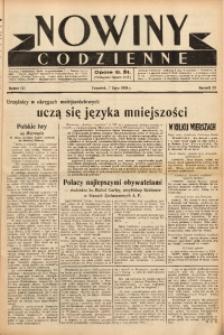 Nowiny Codzienne, 1938, R. 28, nr 151