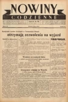 Nowiny Codzienne, 1938, R. 28, nr 161